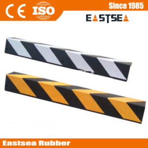 Black & Yellow Square Angle Rubber Wall Corner Protector pictures & photos