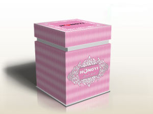 Embossed Spercial Paper Perfume Box for Gift Packaging pictures & photos