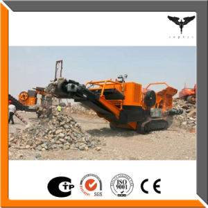 The Mobile Track Crushing Plant for Stone Processing Machine pictures & photos