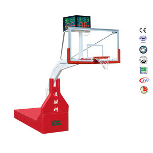 Hydraulic Basketball System Movable Backstop Basketball Stand pictures & photos