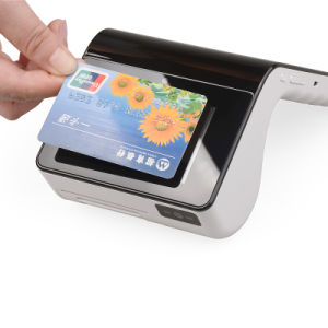 Dual Display Touch Screen POS Payment Terminal PT-7003 with Thermal Printer/NFC Card Reader pictures & photos
