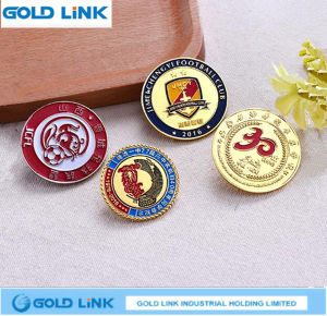 Metal Badge Custom School Logo Metal Pin Crafts Souvenir Emblem pictures & photos