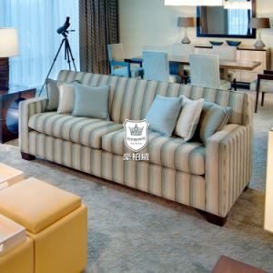 Fresh Greece Blue Sofa Furniture Living Room for Hotel Room pictures & photos