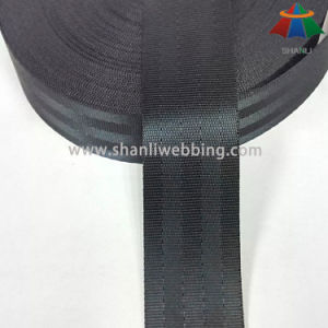 1.5 Inch Black Polyester Seatbelt Webbing pictures & photos