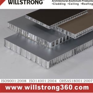 Double-Side Aluminum Honeycomb Panel for Building Material pictures & photos