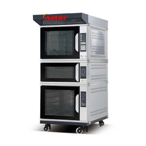 Electric 5trays Convection Oven+Single Deck Oven+5trays Proofer Combination Oven Baking Machine pictures & photos