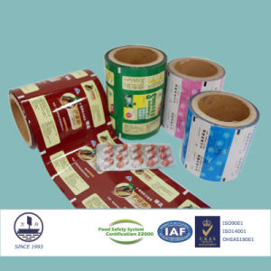 9-Colored and Printed Composite Film for Pharmaceutical Packaging pictures & photos