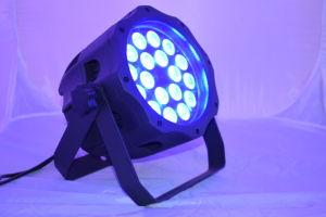 Stage Equipment 18*15W RGBWA DJ Disco Wedding PAR Light pictures & photos