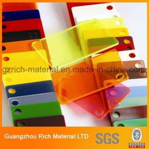 Cast Plastic Acrylic Sheet PMMA Perspex Sheet for Decoration pictures & photos