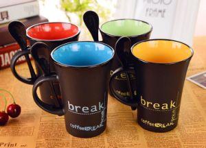 Wholesale Ceramic Custom Print Coffee Mug Outside and Inside Mug pictures & photos