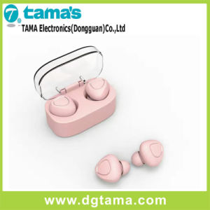 Invisible Wireless Surround Sound in-Ear Bluetooth Earbuds Headphone with Charging Case pictures & photos