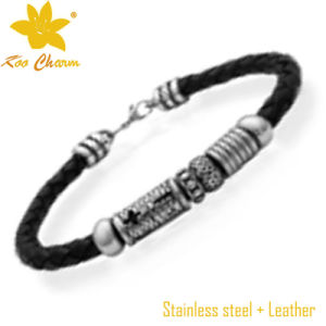 Stlb-025 Custom Size Mens Bracelet Designs in Gold pictures & photos