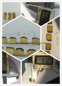 Synthetic Monocrystal Diamond Plate pictures & photos