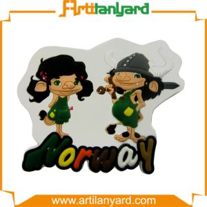 Fashion Cartoon Design PVC Fridge Magnet pictures & photos