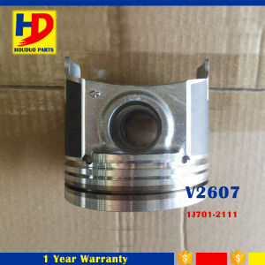 Excavator Diesel Engine Spare Parts V2607 Piston with Pin OEM (1J701-2111) pictures & photos