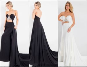 Jewelry Evening Gowns Keyhole Party Prom Dresses E13917 pictures & photos