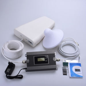 80dB 25dBm, Aws1700/2100MHz 3G 4G Cell Phone Signal Booster pictures & photos
