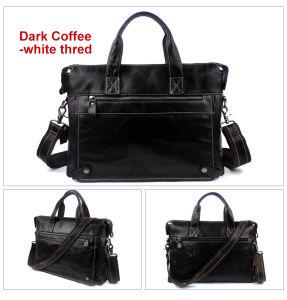 Genuine Leather Bag Business Men Bags Laptop Tote Brief⪞ Ases Crossbody Bags Shoulder Handbag Men′s Messenger Bag pictures & photos