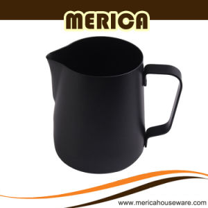 Black Teflon Spraying Milk Pitcher pictures & photos