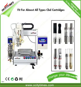 Automatic Disposable E Cig Filling Machine/Hemp Oil Cartridge Filling Machine pictures & photos
