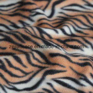 Brush Fabric with Animal Skin Designs Polar Fleece pictures & photos
