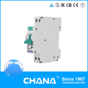 Electronic 1p+N 32A RCCB with Overcurrent Protection RCBO Circuit Breaker pictures & photos