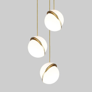 Earth Shade Acrylic Pendant Lamp Modern Hanging Pendant Light pictures & photos