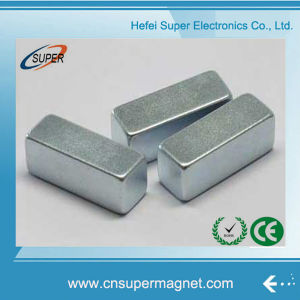 N35 Strong Permanent Bar Shape Neodymium Block Magnet pictures & photos