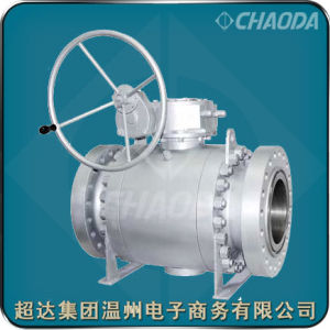 Chaoda Brand ANSI Standard RF Flanged Ball Valve pictures & photos