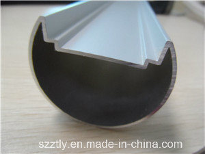 Sand-Blasted Anodised Aluminum Extrusion Profile for LED Lamps pictures & photos