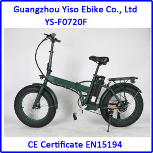 20inch Folding Electric Bicycle Fat pictures & photos