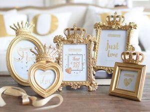 Polyresin Photo Frame Craft Home and Wedding Decor pictures & photos