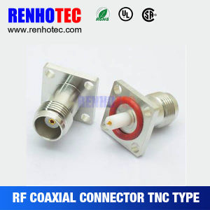 TNC Male Right Angle Screw on /Clamp/ Rg58 / RoHS / TNC Connector pictures & photos