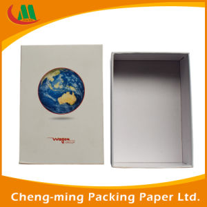 Cheap Custom Printed Matte Black Paper Packaging Cardboard Shoe Box for Gift Wholesale pictures & photos