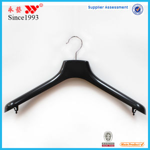 Wide Shoulder Heavy Top Clothes Plastic Hangers on Sale pictures & photos