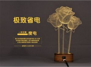 Amazing Acrylic LED Night Light Table Lamp Nice LED Gift pictures & photos