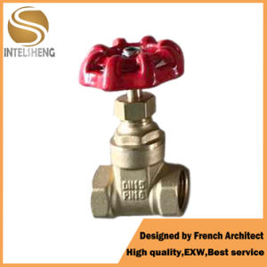 "Hydraulic 1/2""-2""Brass Stem Water Gate Valve pictures & photos"