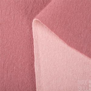 Pink 100% Double Sides Cashmere Fabrics for Winter Season pictures & photos