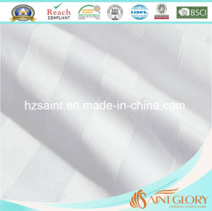 Hotel White Bedding Sets Stripe Style Sheet Sets pictures & photos