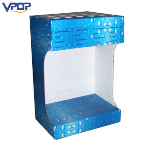 Easy Assembly Corrugated Paper Counter Display Stand for Umbrella pictures & photos