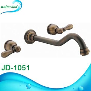Waterfall Cupc Bronze Shower Deck Mounted 5holes Bath Mixer pictures & photos