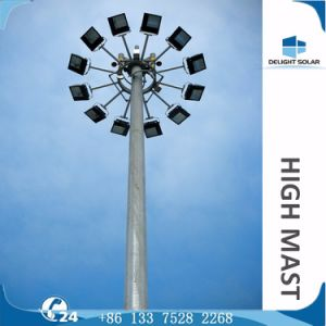 30m 1000watt HPS Lamp Octagonal Power Pole Manufactures High Mast pictures & photos