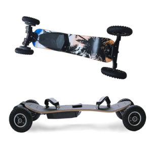Hot Sale off Road Four Wheel Remote Control Electric Skateboard pictures & photos