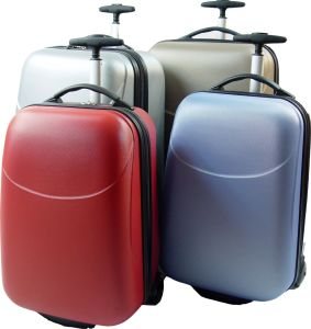 ABS Fashion High Quality Luggage-Red pictures & photos