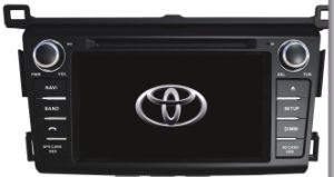 2013 2014  RAV4 Car DVD with 3G TV iPod RDS Mirror Link GPS Radio for Toyota pictures & photos