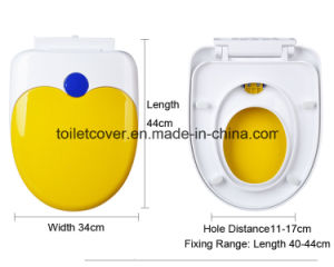 Children and Audlt Toilet Seat in PP pictures & photos
