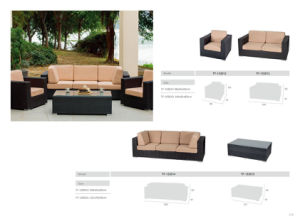 Popular Selling Contemporary Commercial Sectional Rattan Sofa
