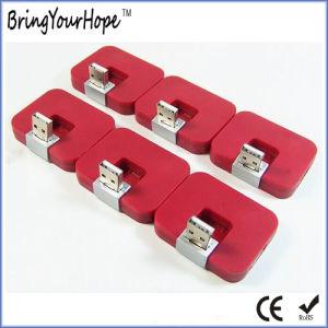 Mini Square 4-Port USB Hub (XH-HUB-004) pictures & photos