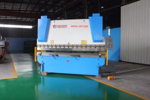 WF67K 125T/3200 Hydraulic Press Brake Machine for Sale Machinery pictures & photos