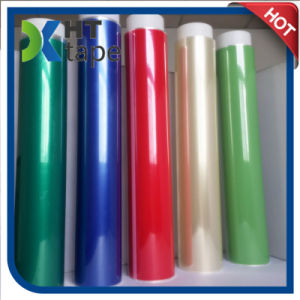 Color Pet Film Coated Silicone Adhesive Polyester High Temperature Tape pictures & photos